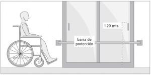 puertas minusvalidos